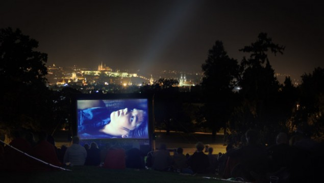 Open Air Cinema in Riegrovy sady