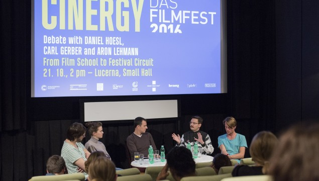 Cinergy with young German speaking filmmakers